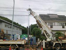 電柱移設工事